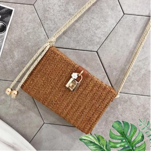 Rattan Style Bag - 3 Colors Options