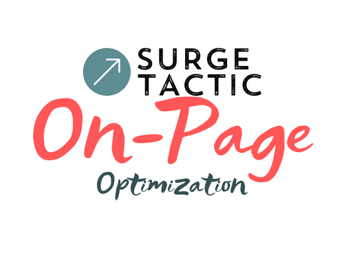 On-Page SEO Optimization Per Page
