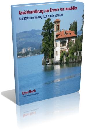 Absichtserklärung - Letter of intent - Für Immobilien  - Kaufabsichtserklärung für Immobilien