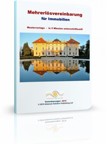 Mehrerlösvereinbarung für Immobilien Mustervorlage - in 5 Minuten unterschriftsreif
