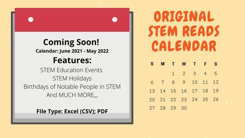 The Ultimate STEM Reads Digital Calendar (June 2021- May 2022)