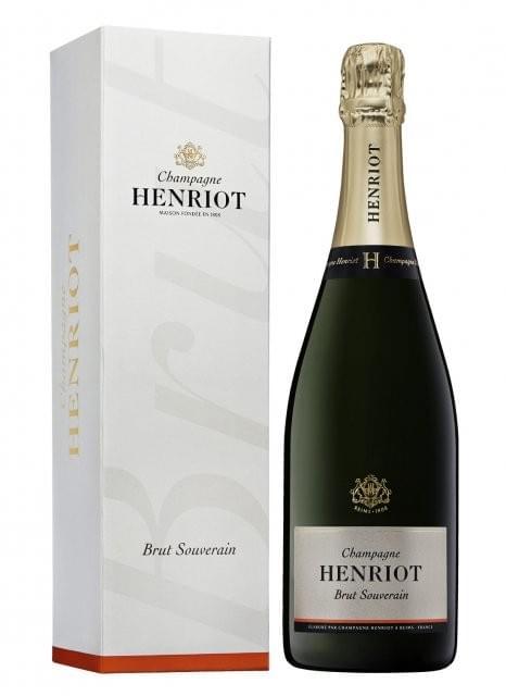 12 bouteilles de Champagne Henriot - 30€ l'unité livraison incluse