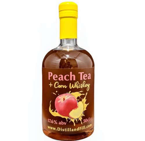 Peach Tea + Corn Whiskey