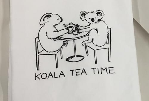 Koala Tea Time Tea Towel