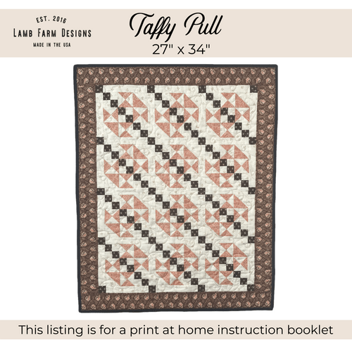 """""""Taffy Pull"""" Pattern - Instant Download"""