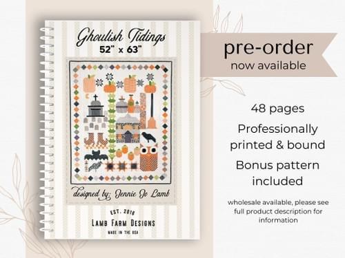 Ghoulish Tidings - Pattern Book *Pre-order*