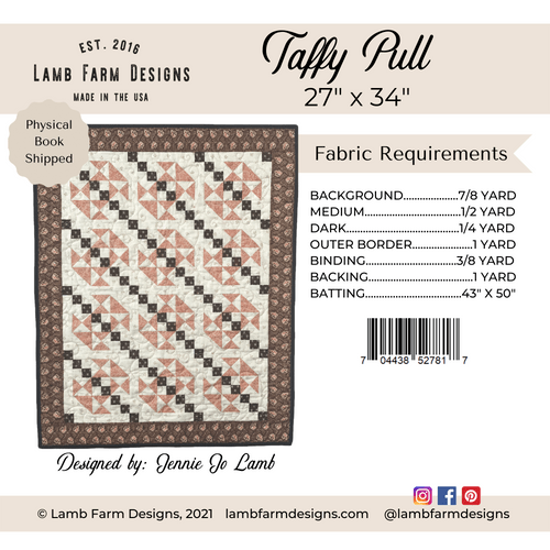"""""""Taffy Pull"""" Pattern Instructions Booklet"""