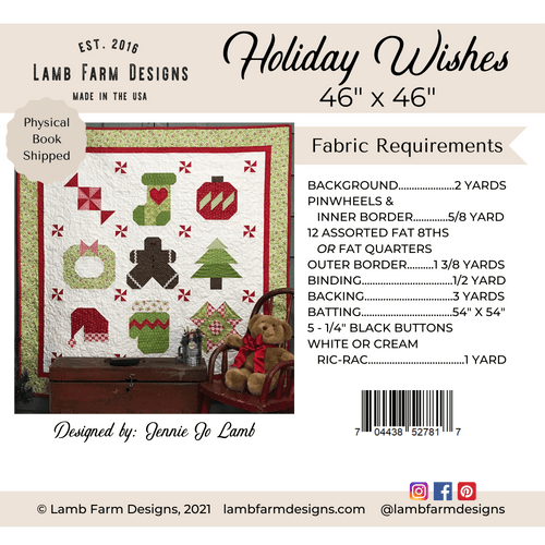 """""""Holiday Wishes"""" Pattern"""