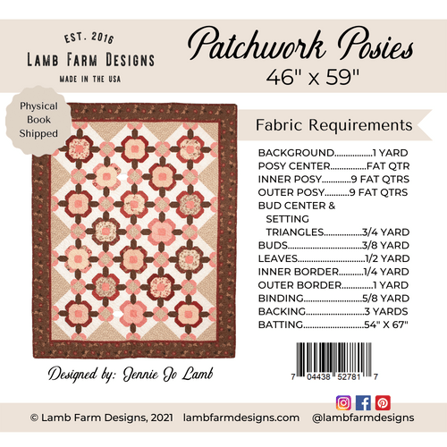 """Patchwork Posies"" Pattern"
