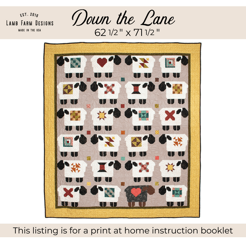 """""""Down the Lane"""" Pattern - Instant Download"""