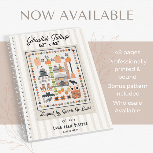 Ghoulish Tidings - Pattern Book