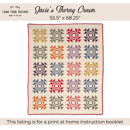 """""""Jacie's Thorny Crown"""" Pattern - Instant Download"""