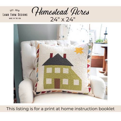 """""""Homestead Acres"""" Pattern - Instant Download"""