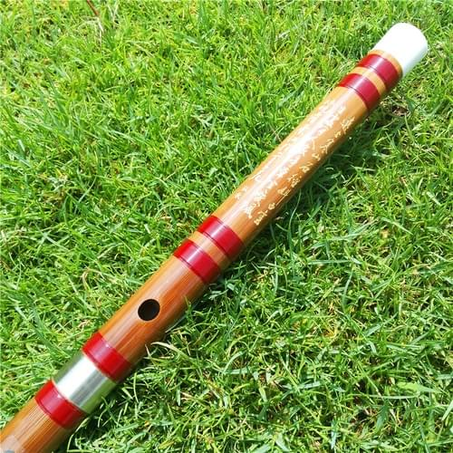 A005 Concert Grade Professional Chinese Bamboo Flute Dizi C D E F G Key