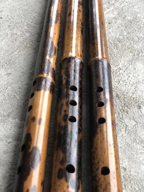 Top End Tear Bamboo Collective Grade Xiao 8 Finger Holes Entire Appearance Design