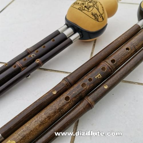 H001  Concert Grade Musician Professional  Hulusi Flute