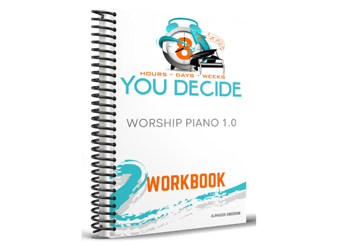 888  Worship Piano Workbook