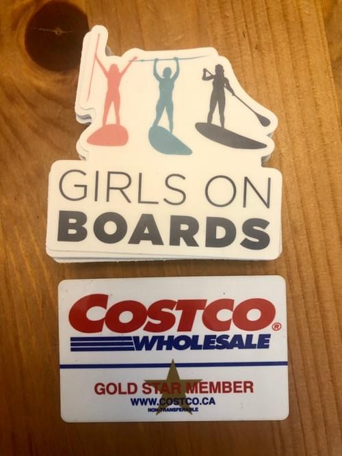 Stickers - Cutout GIRLS ON BOARDS LOGO