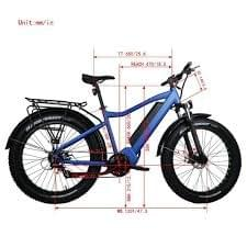 1000 W Hunting Bikes (BTN) FAT &  Full suspension available