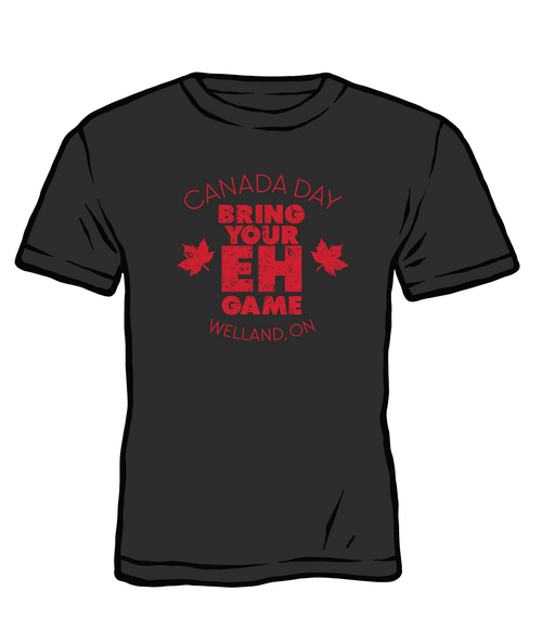 Welland, ON - CANADA DAY T-Shirt