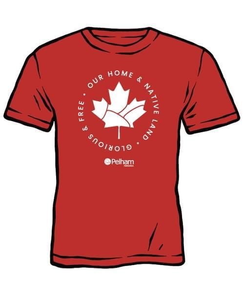 Town of Pelham Canada Day T-shirt