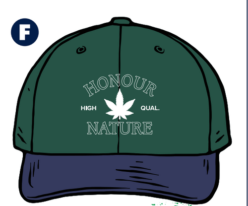 Honour Nature Embroidered Dad Hat