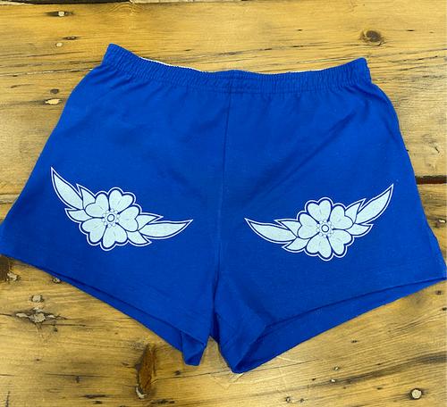 Ladies Flower Shorts