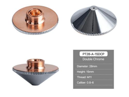 Precitec Cutting Nozzles A Type H15 Double Layer Chrome