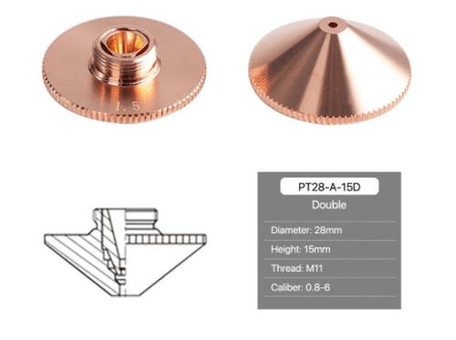 Precitec Cutting Nozzles A Type H15 Double Layer