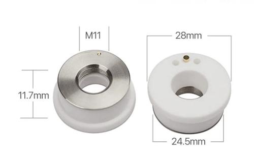 Ceramic Parts for Raytools/Precitec Fiber Laser Cutting Head