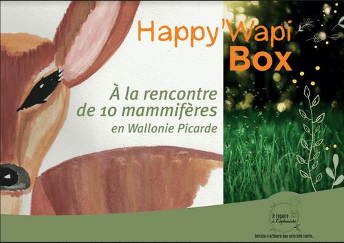 La Happy'Wapi Box Mammifères - livraison en avril