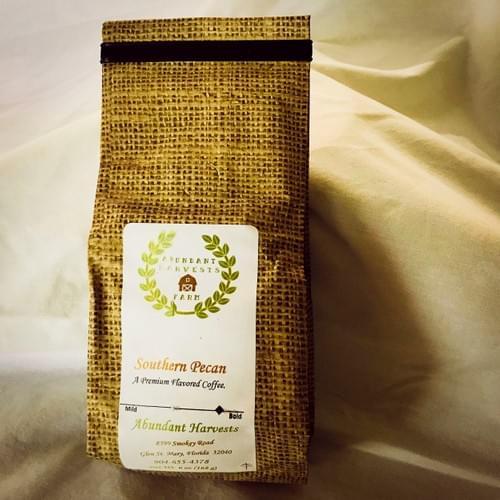 Abundant Harvests Local Slow Roasted Pecan Coffee