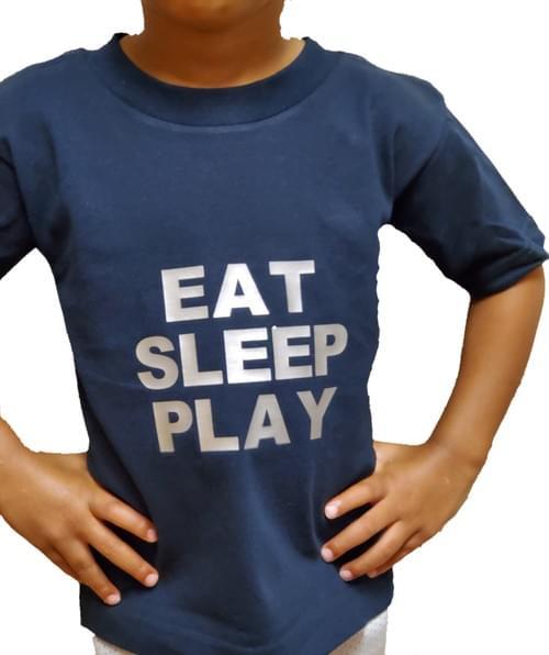Toddler Savage Eat Sleep Play T-shirt