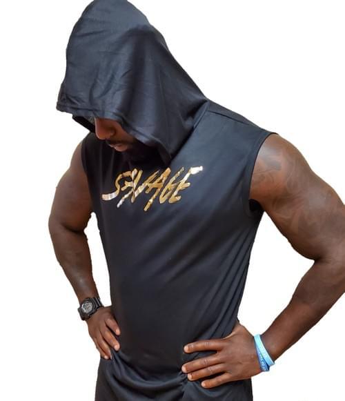 Savage Sleeveless Hoodie (Unisex)
