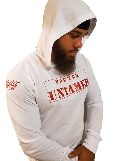 White For The Untamed Hoodie T Shirt (Unisex)