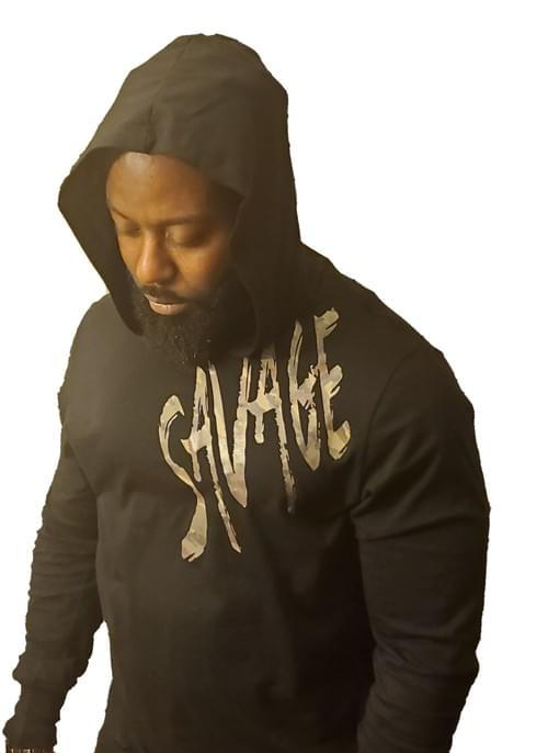 Big Savage Fatigue Hoodie T Shirt (Unisex)