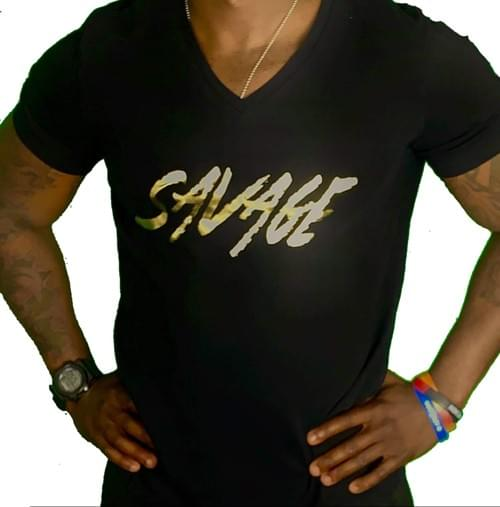 EP1 Black Savage V-Neck Shirt
