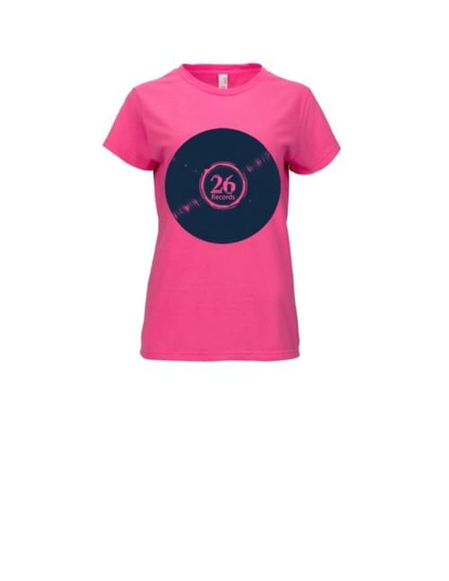 Women's premium t-shirts: classic, single color, L hot pink