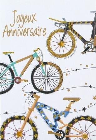 Velo Joyeux Anniversaire / Bikes Birthday