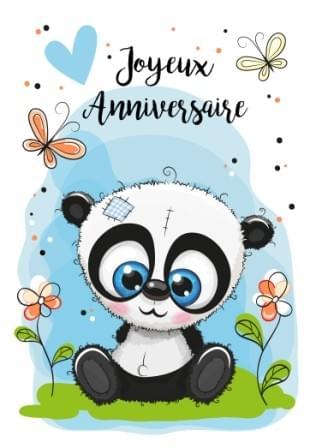 Panda Anniversaire / Panda Birthday