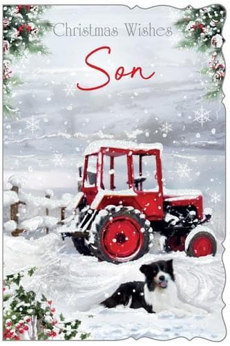 Snowy Tractor - Son