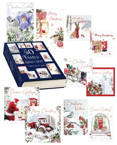 Pack of 50 Christmas Cards