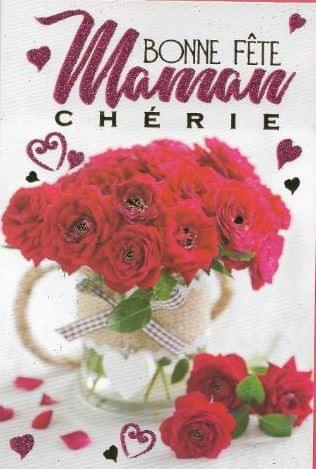 Bonne Fete Maman Roses / French Mother's Day Roses