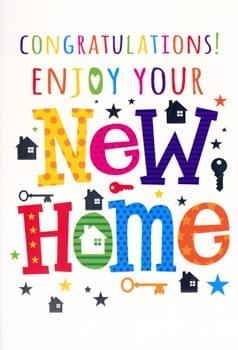 Enjoy your new home!