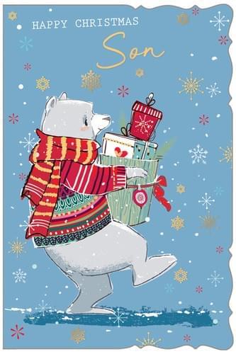 Tiptoeing Polar Bear - Son
