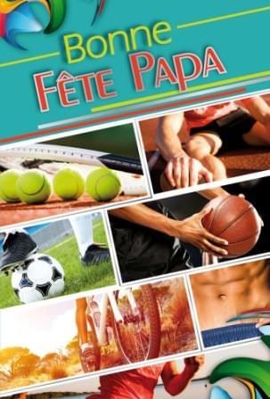 Bonne Fete Papa Sport - Vert
