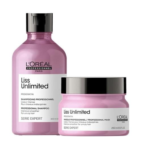 L'Oréal Professionnel Serie Expert Liss Unlimited Shampoo and Masque Duo
