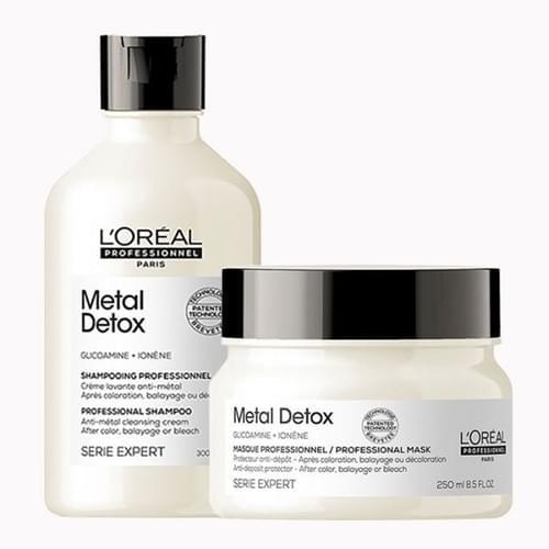 L'Oréal Professionnel Serie Expert Metal Detox Shampoo 300ml and Mask 250ml Duo