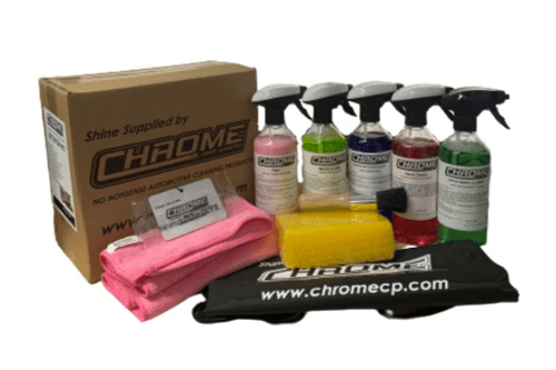 Chrome: Interior Kit: The Perfect kit for interior cleaning