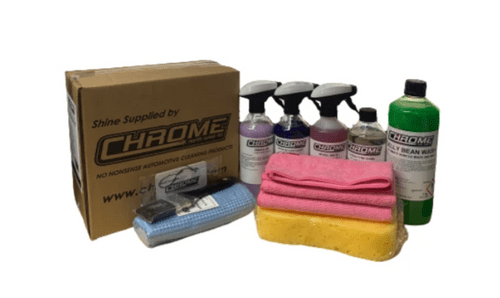 Chrome: Exterior Kit: Perfect kit for exterior cleaning